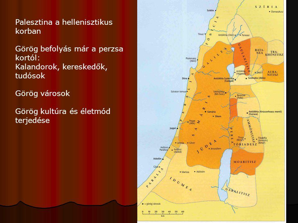 Palesztina a hellenisztikus korban