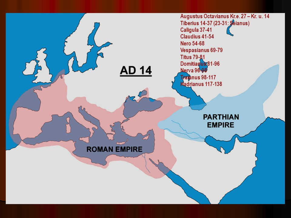 Augustus Octavianus Kr.e. 27 – Kr. u. 14