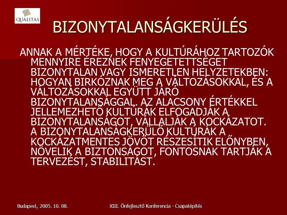 BIZONYTALANSÁGKERÜLÉS