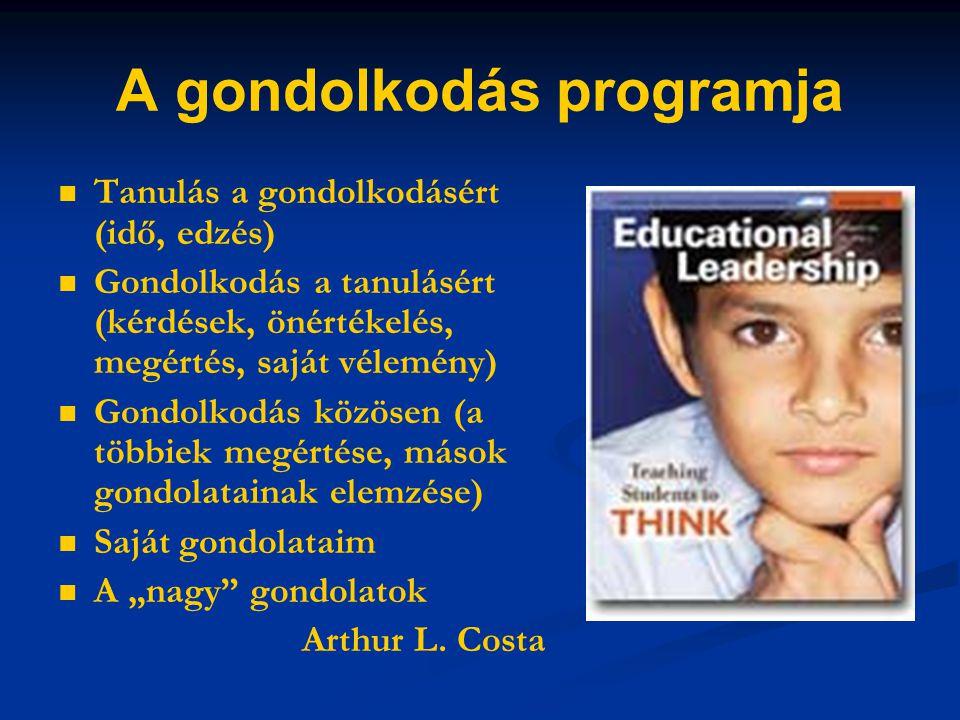 A gondolkodás programja