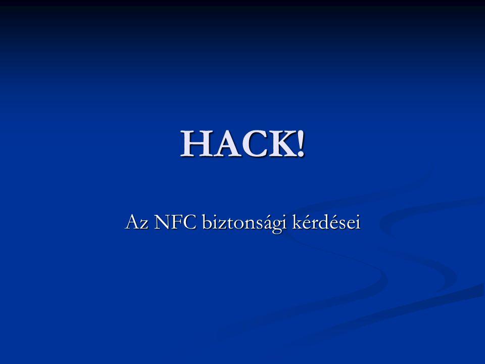 Az NFC biztonsági kérdései