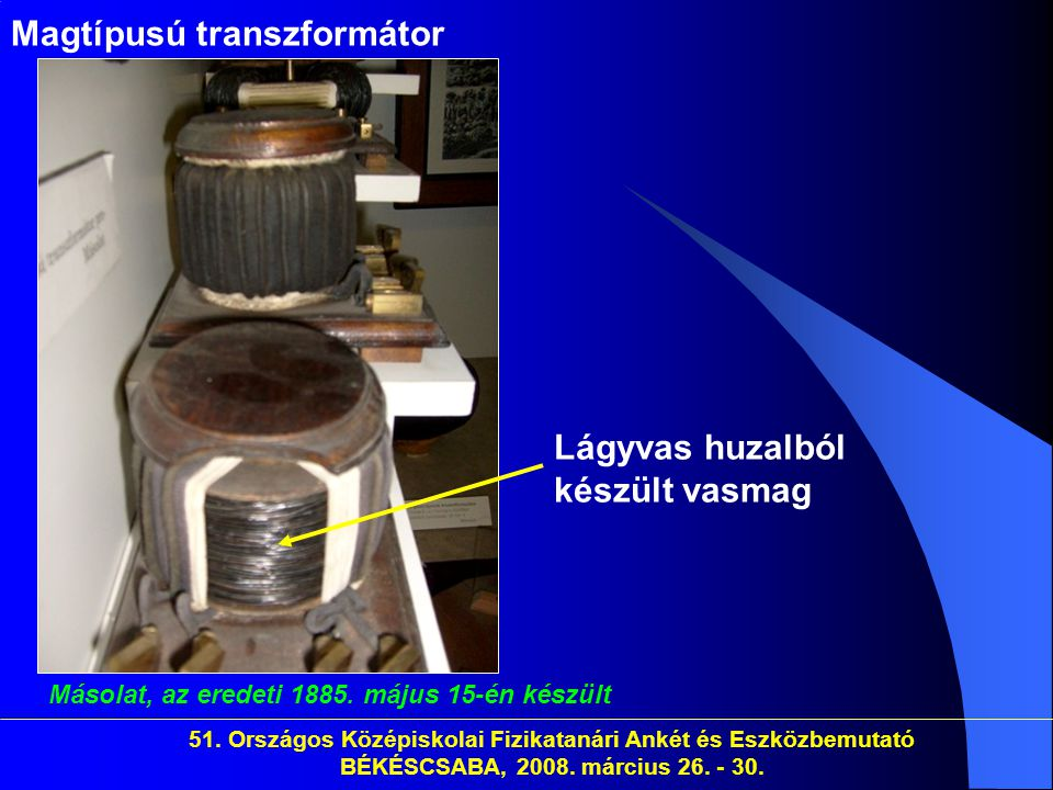 Magtípusú transzformátor