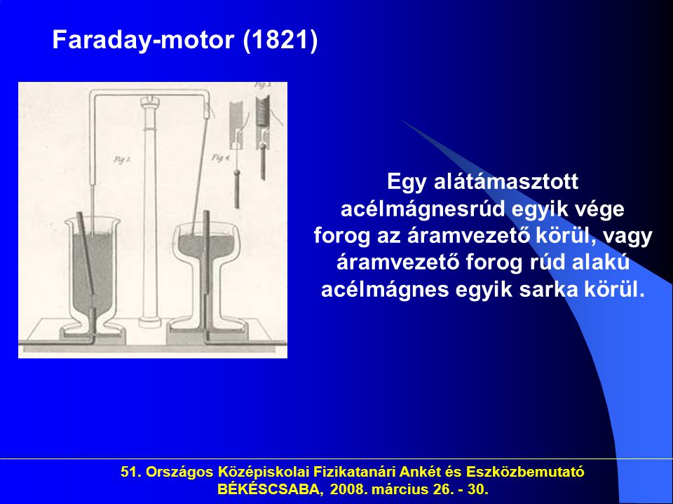 Faraday-motor (1821)