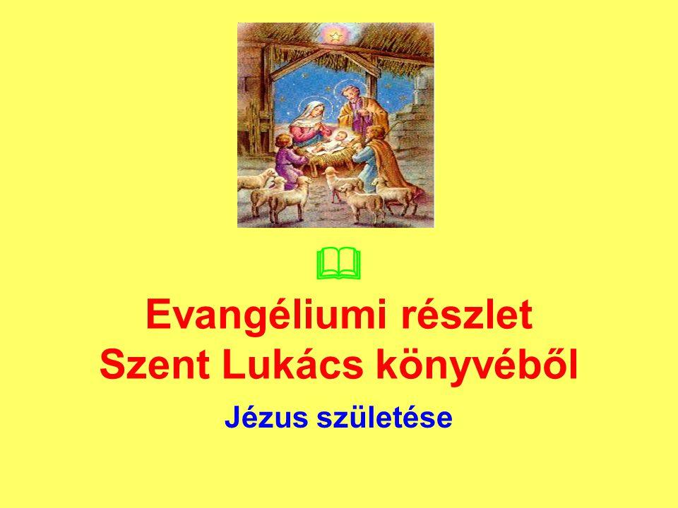  Evangéliumi részlet Szent Lukács könyvéből