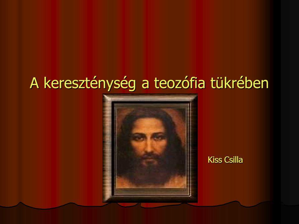A kereszténység a teozófia tükrében
