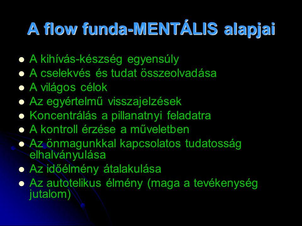A flow funda-MENTÁLIS alapjai