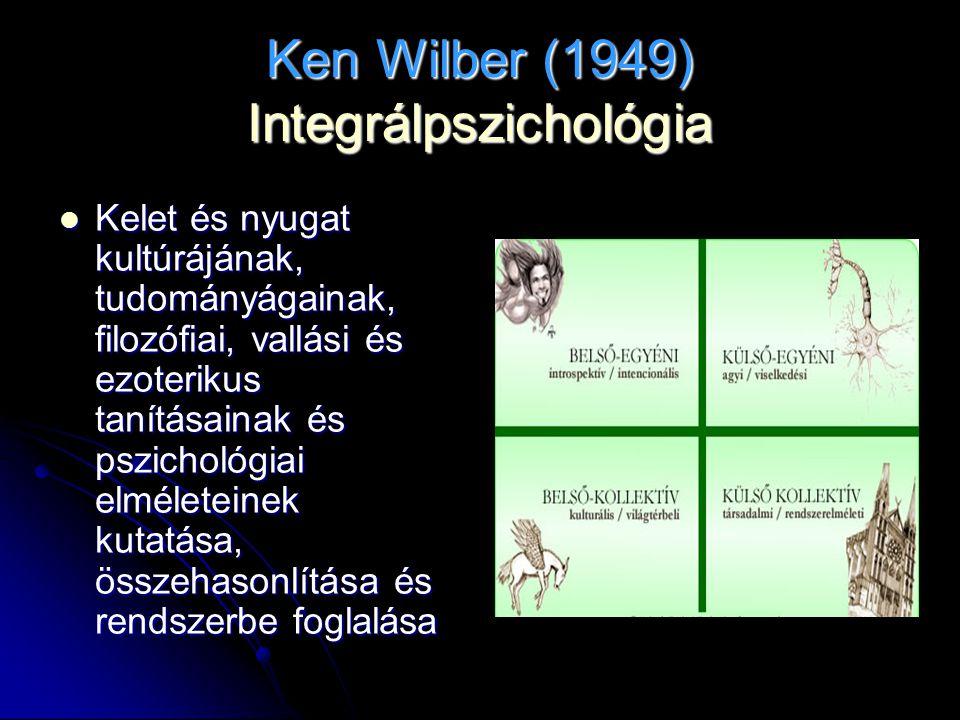 Ken Wilber (1949) Integrálpszichológia