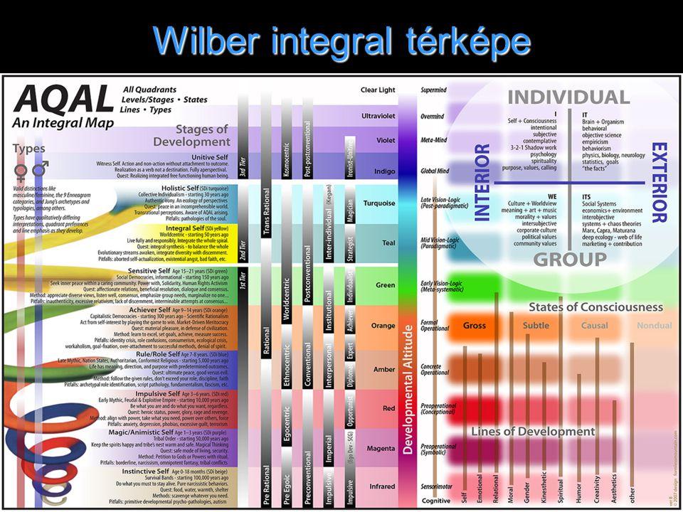 Wilber integral térképe