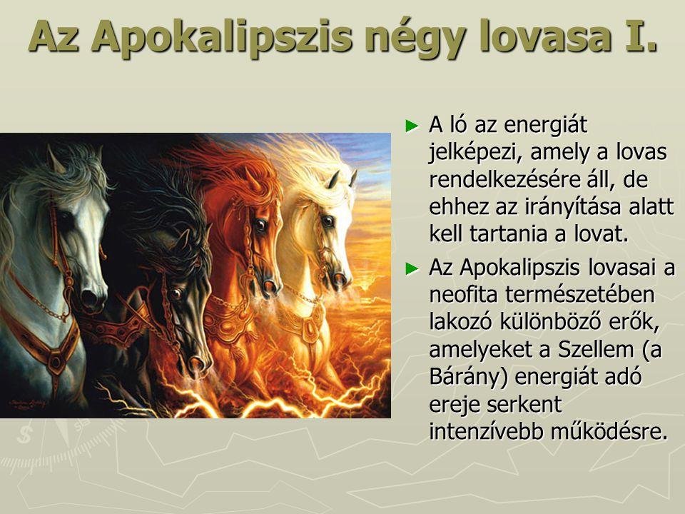 Az Apokalipszis négy lovasa I.