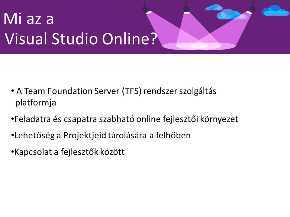 Mi az a Visual Studio Online