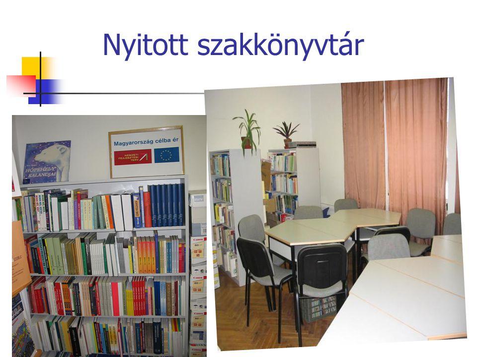 Nyitott szakkönyvtár