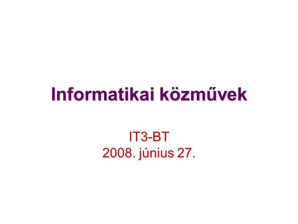 Informatikai közművek