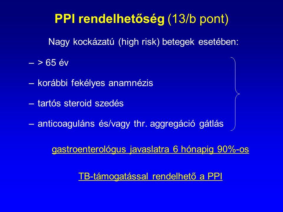 PPI rendelhetőség (13/b pont)