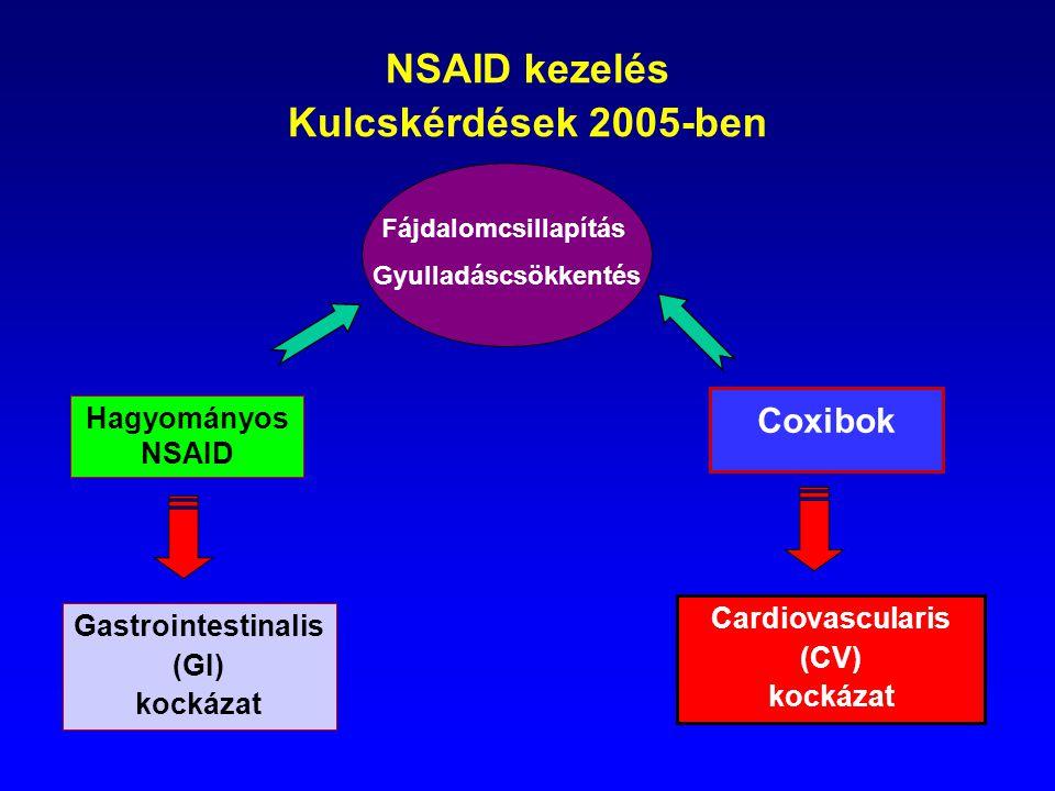 NSAID kezelés Kulcskérdések 2005-ben