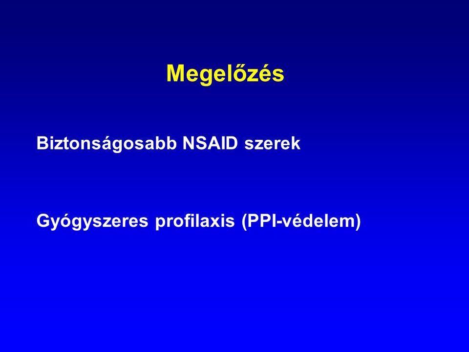 Megelőzés Biztonságosabb NSAID szerek