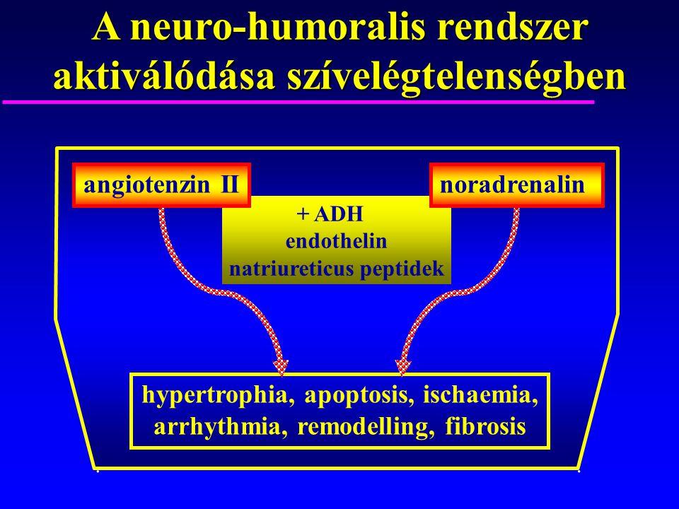 A neuro-humoralis rendszer aktiválódása szívelégtelenségben