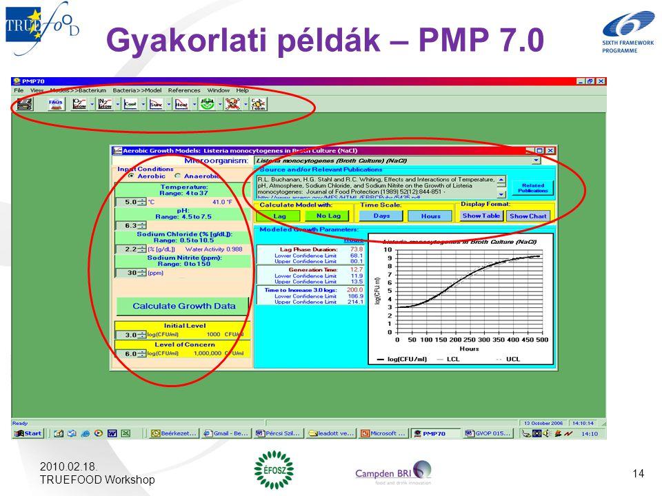 Gyakorlati példák – PMP 7.0