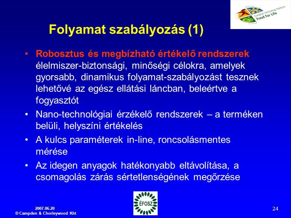 Folyamat szabályozás (1)