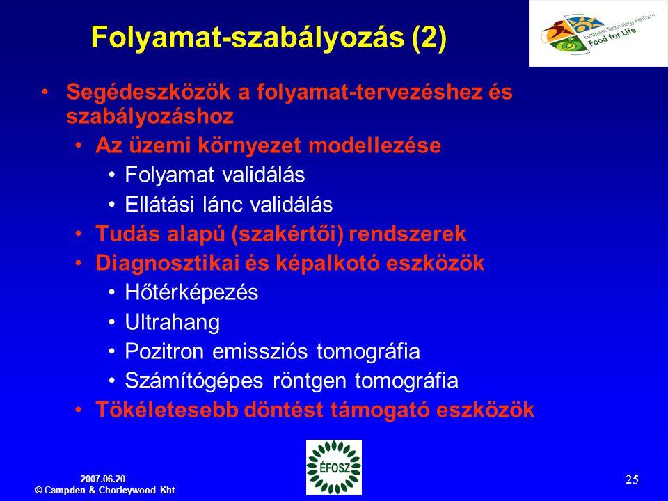 Folyamat-szabályozás (2)
