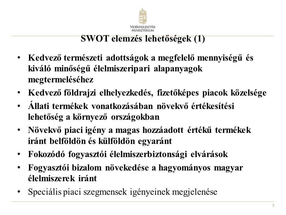 SWOT elemzés lehetőségek (1)