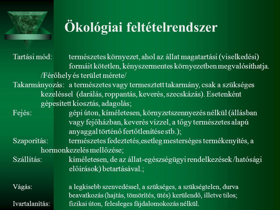 Ökológiai feltételrendszer