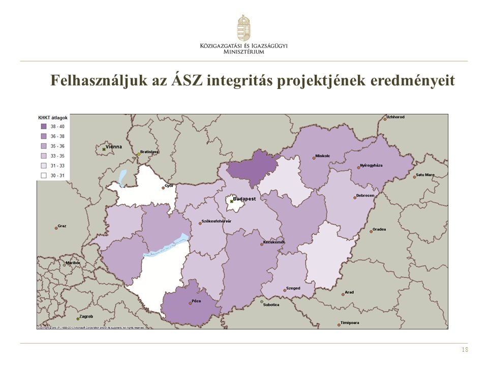 Felhasználjuk az ÁSZ integritás projektjének eredményeit