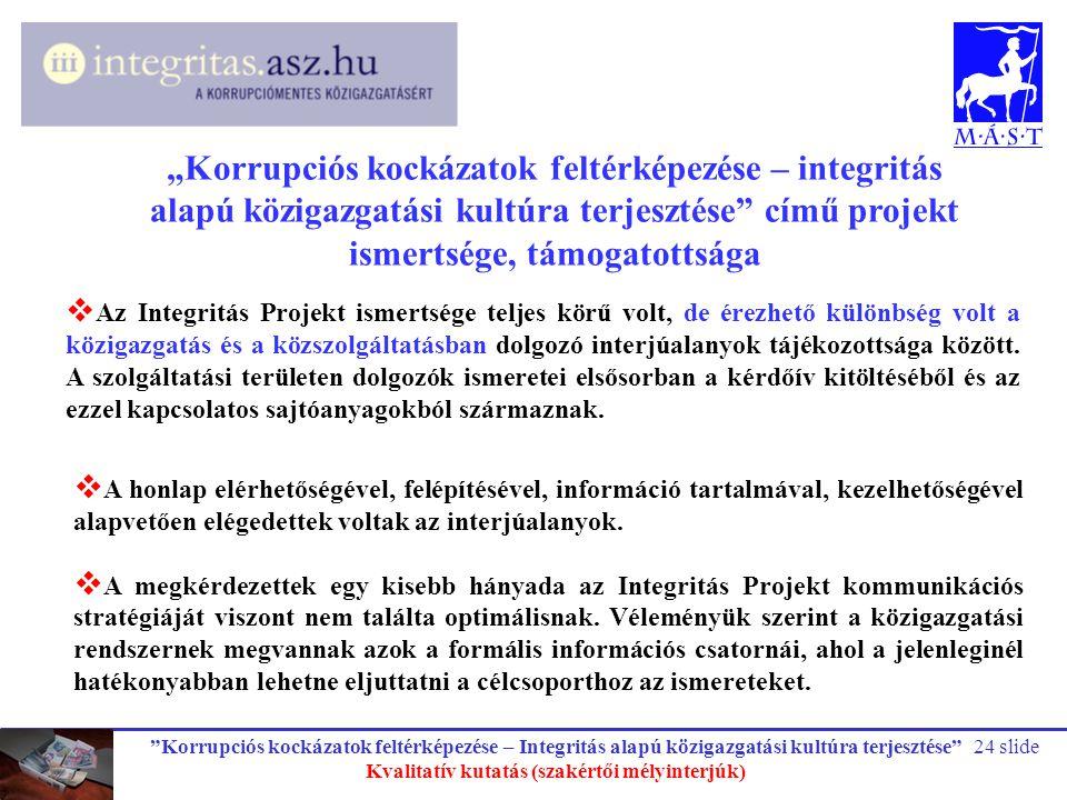 Kvalitatív kutatás (szakértői mélyinterjúk)