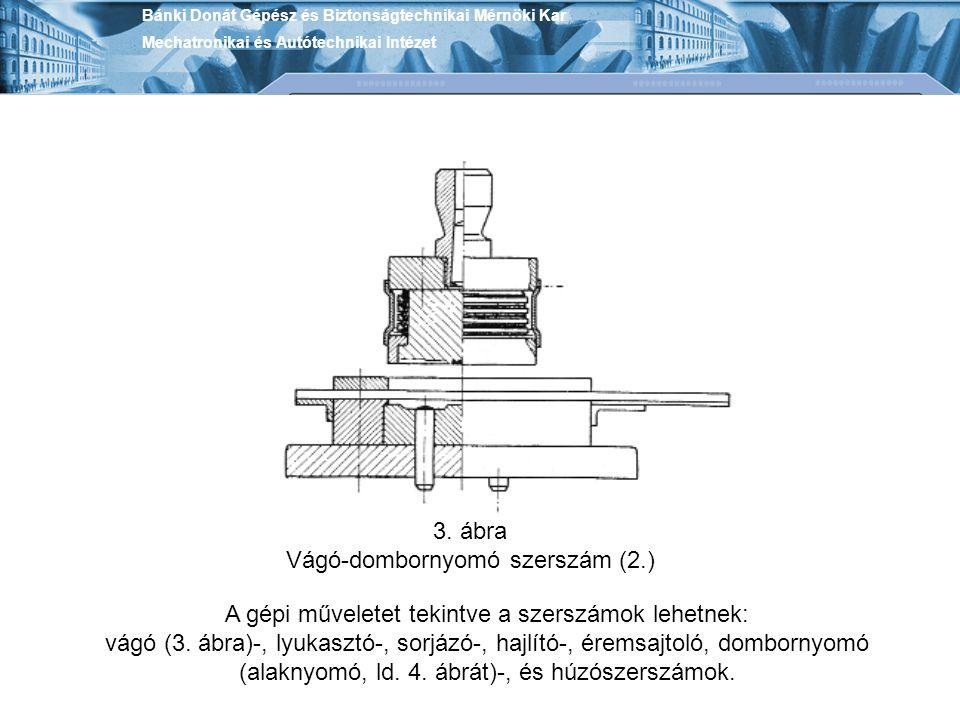 Vágó-dombornyomó szerszám (2.)