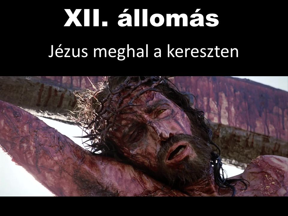 Jézus meghal a kereszten