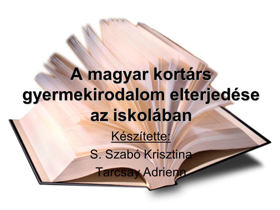 A magyar kortárs gyermekirodalom elterjedése az iskolában