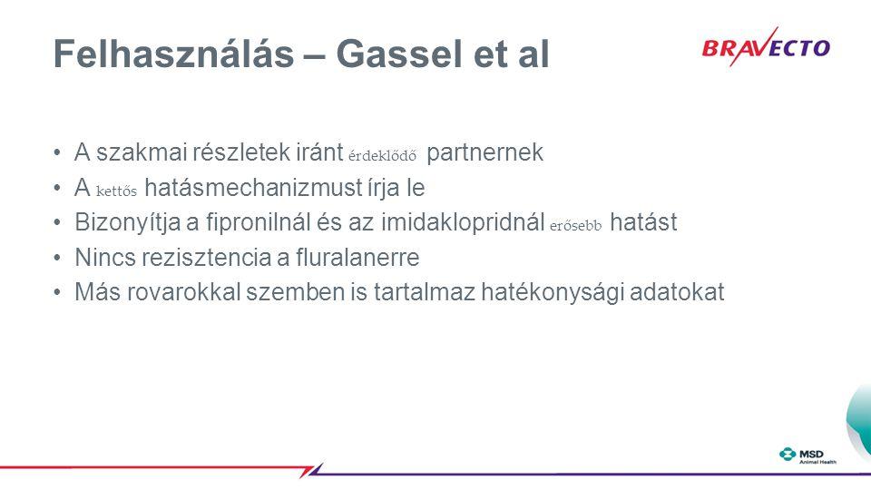 Felhasználás – Gassel et al