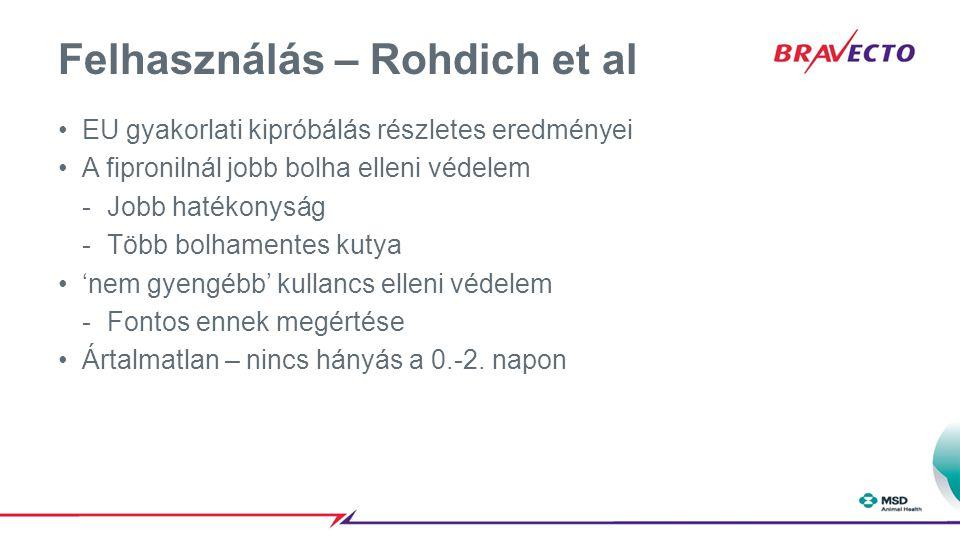 Felhasználás – Rohdich et al