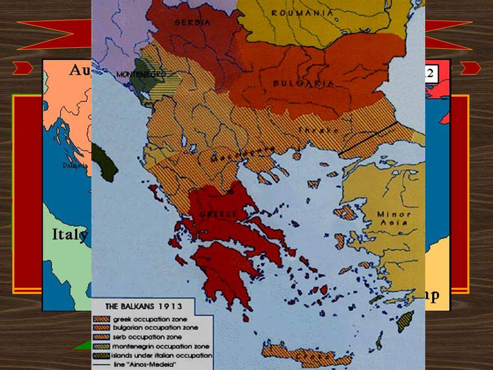 A balkáni államok helye az új szövetségi rendszerben: