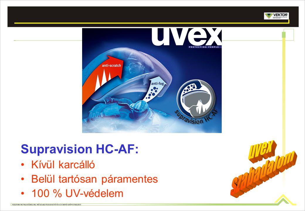 Supravision HC-AF: uvex szabadalom Kívül karcálló