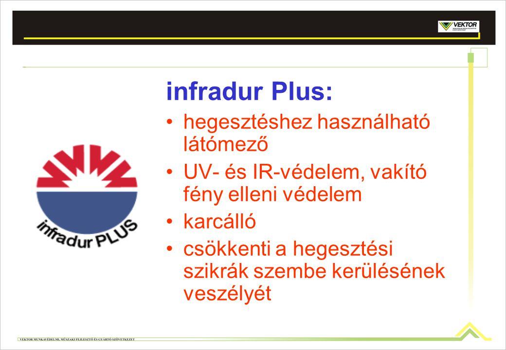 infradur Plus: hegesztéshez használható látómező