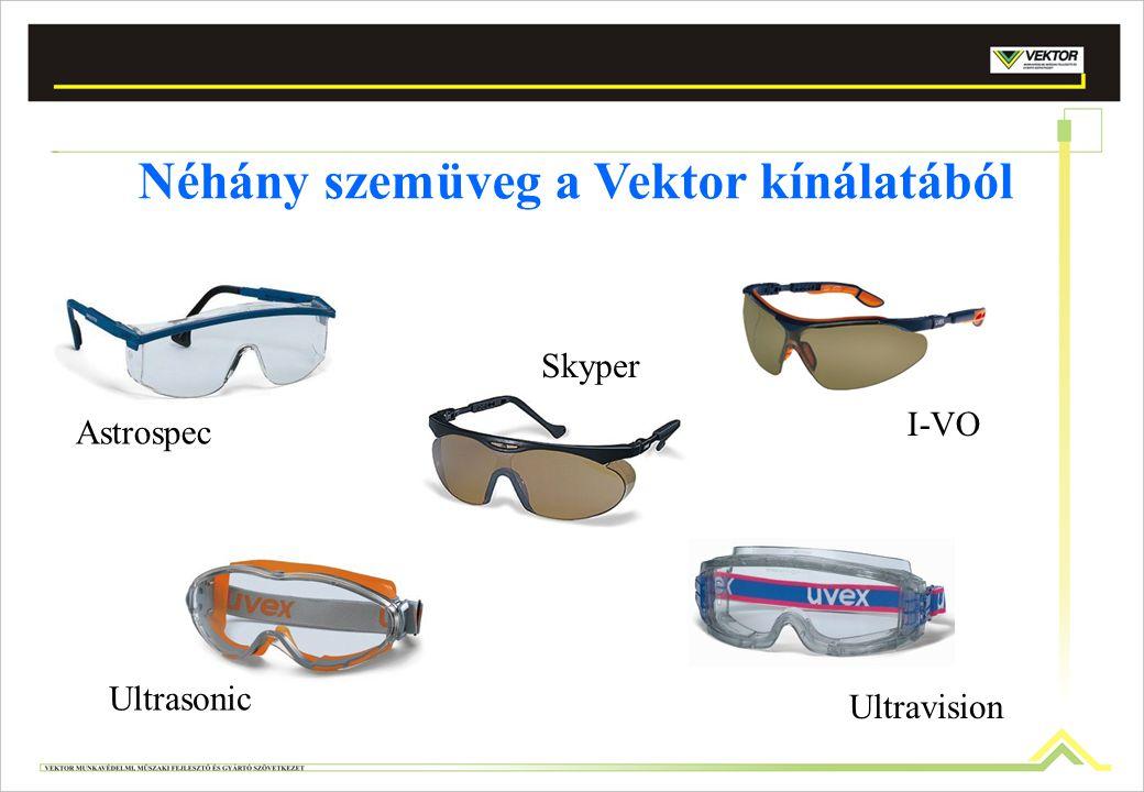Néhány szemüveg a Vektor kínálatából