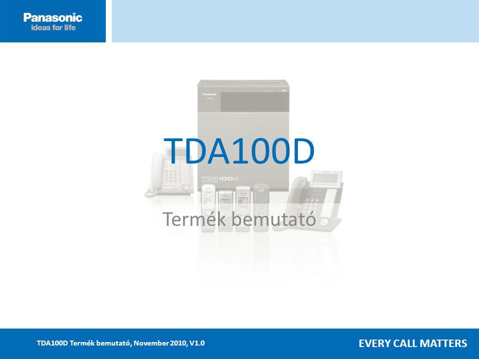 TDA100D Termék bemutató