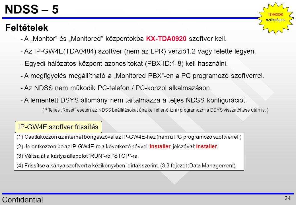IP-GW4E szoftver frissítés