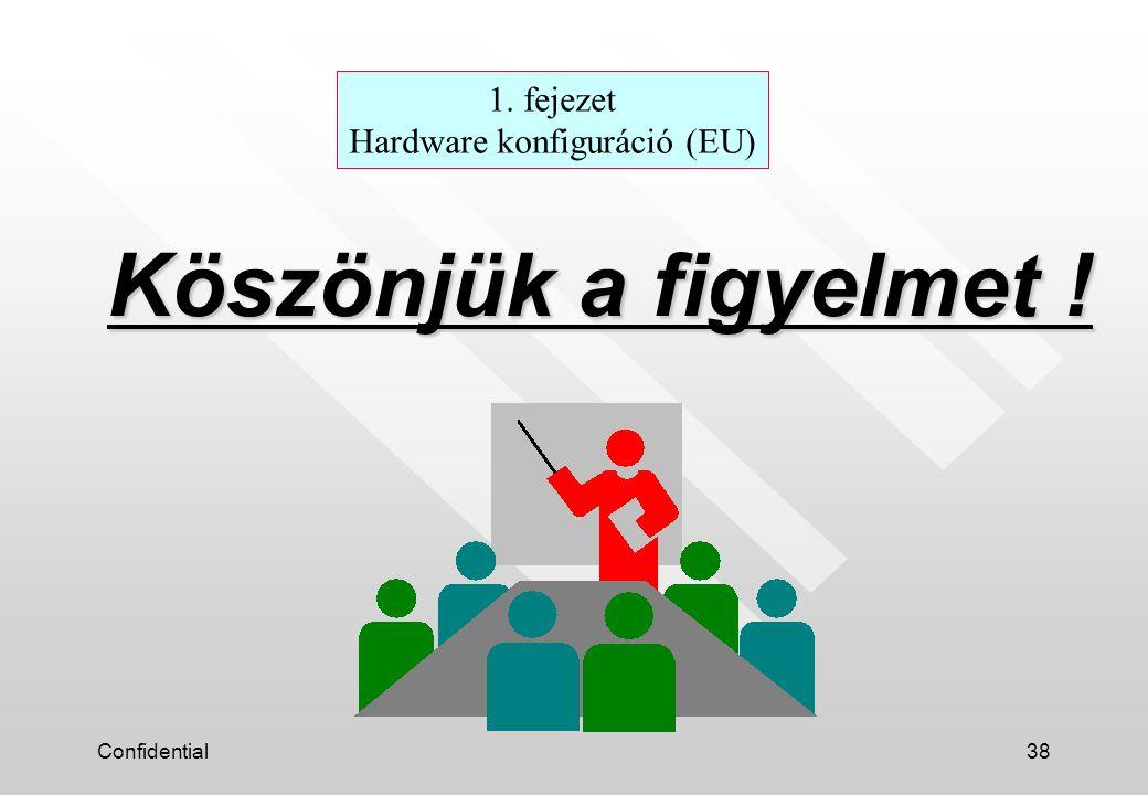 1. fejezet Hardware konfiguráció (EU)