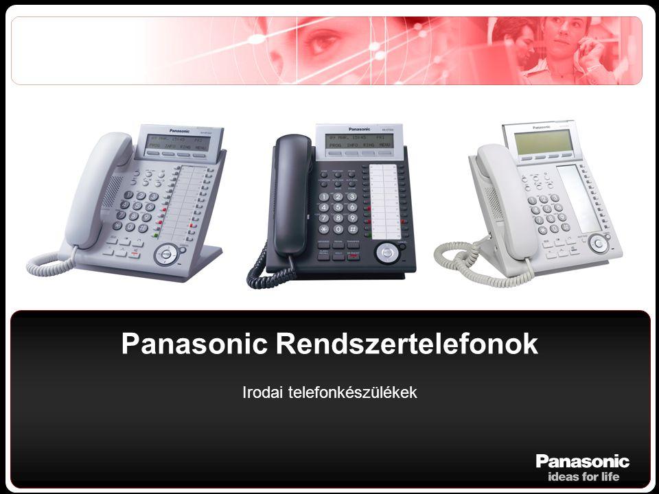 Panasonic Rendszertelefonok