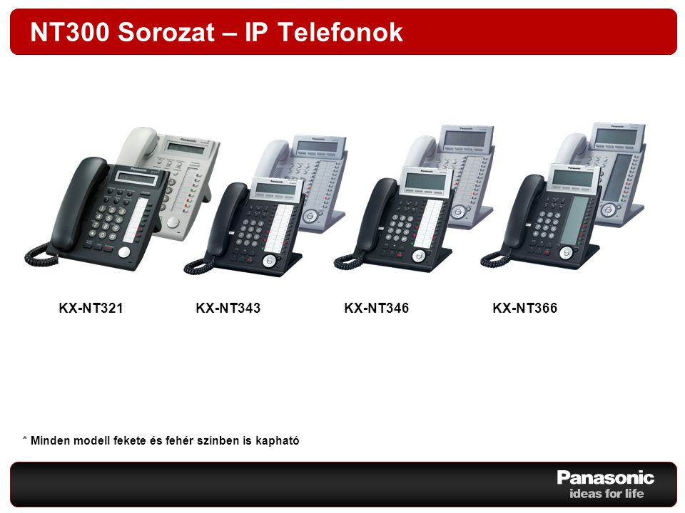 NT300 Sorozat – IP Telefonok