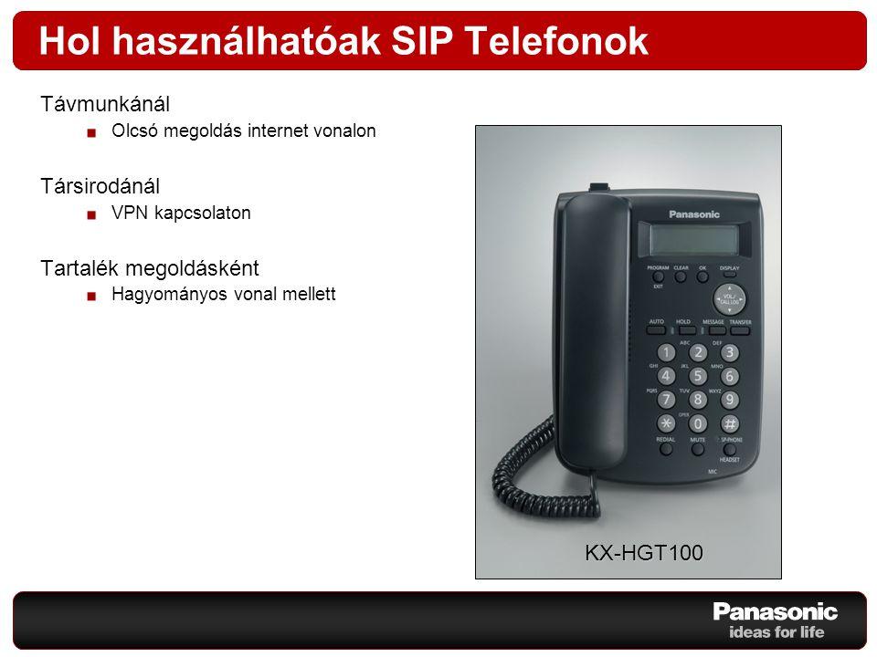 Hol használhatóak SIP Telefonok