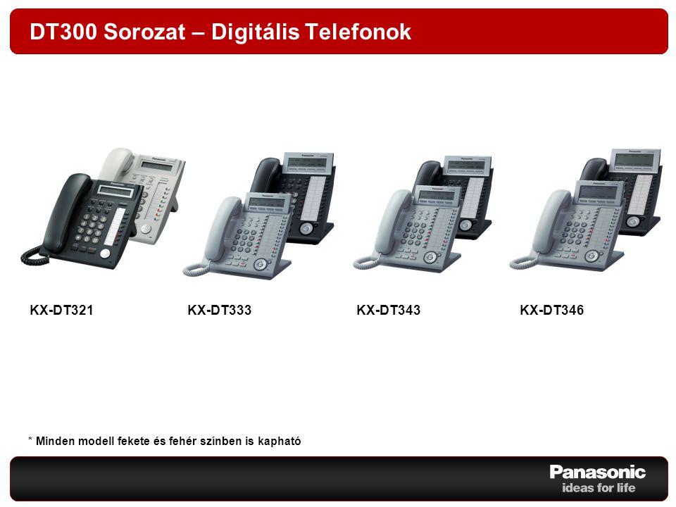 DT300 Sorozat – Digitális Telefonok