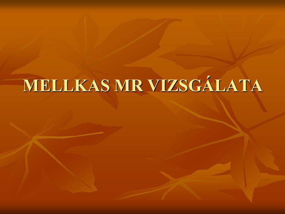 MELLKAS MR VIZSGÁLATA