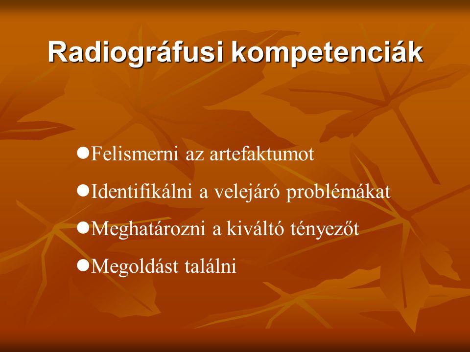 Radiográfusi kompetenciák