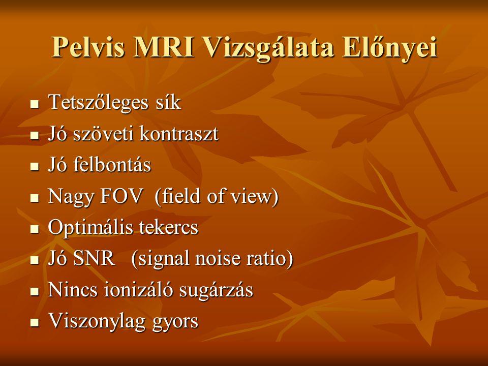 Pelvis MRI Vizsgálata Előnyei