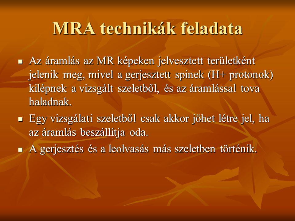 MRA technikák feladata