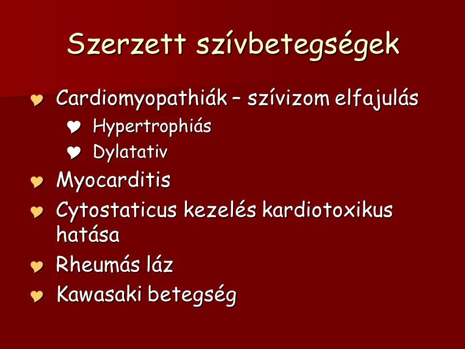 Szerzett szívbetegségek