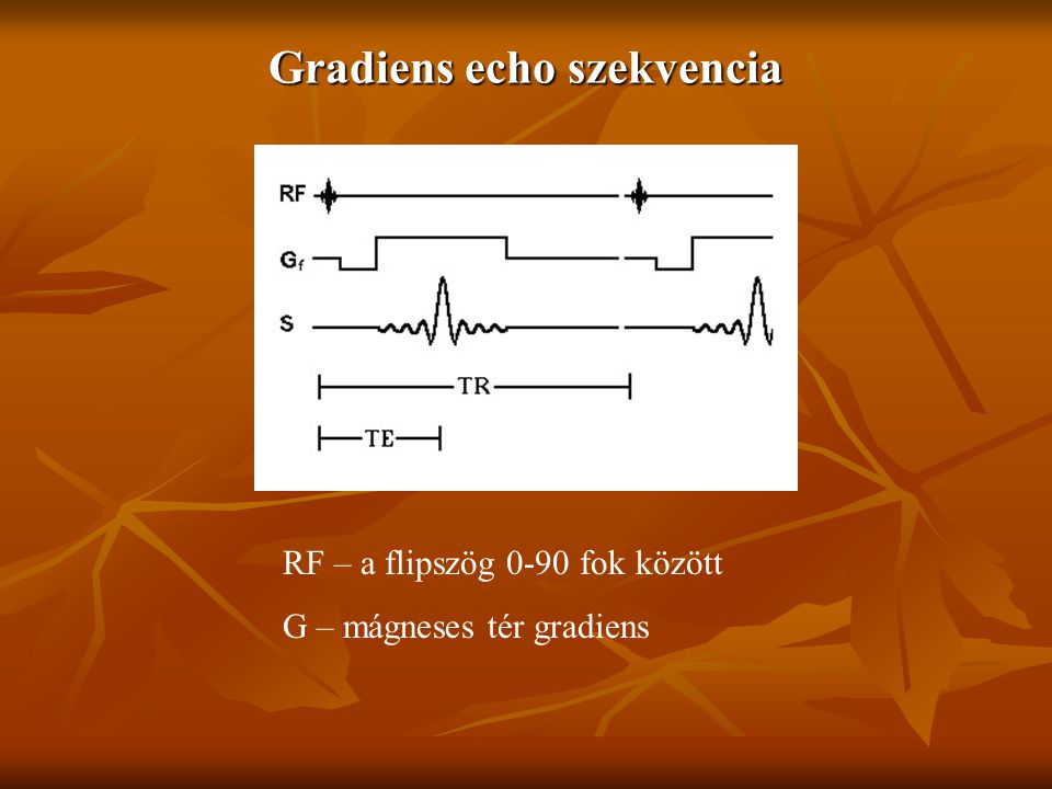 Gradiens echo szekvencia
