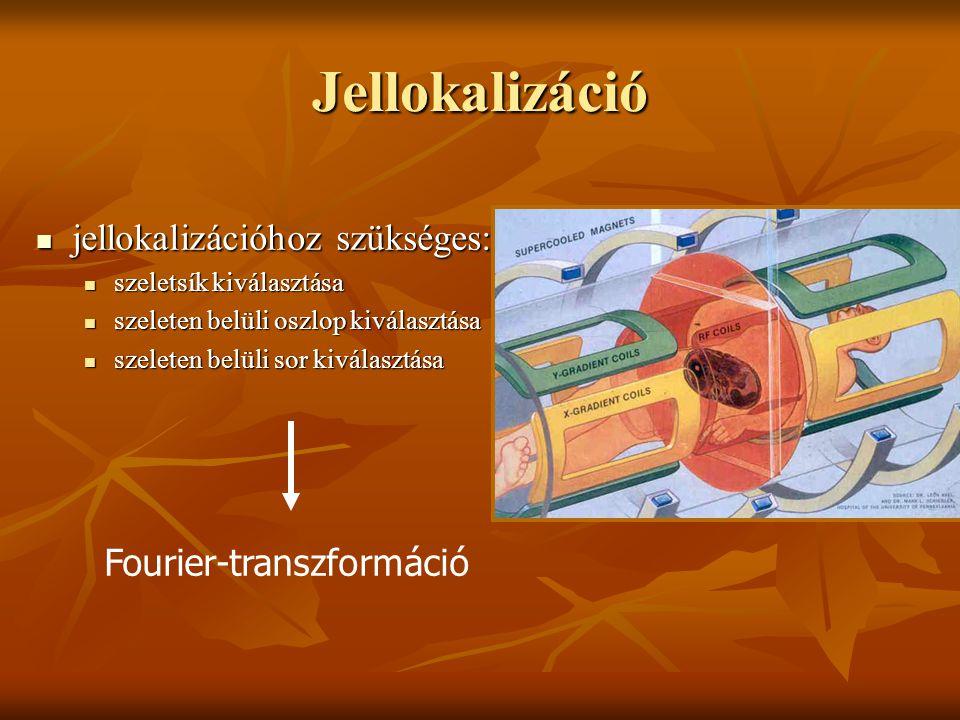 Jellokalizáció jellokalizációhoz szükséges: Fourier-transzformáció